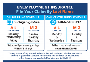 Unemployment Resources Aft Michigan